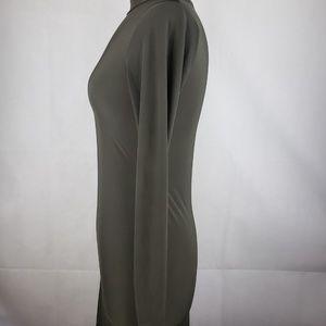 Boohoo Dresses - 🔵5/$50🔵 Boohoo Dark Gray Turtleneck Dress Size 6